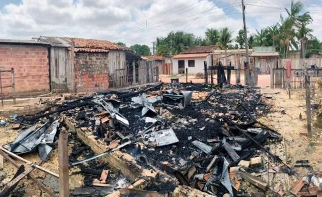 Pará: homem incendeia casa com ex-mulher e cinco filhos dentro